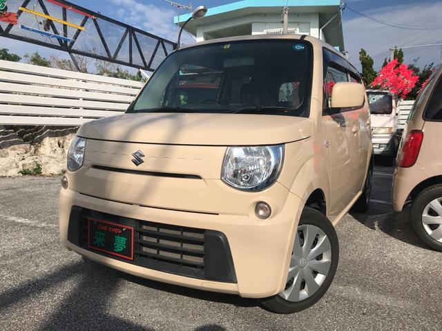 沖縄の中古車 スズキ MRワゴン 車両価格 57万円 リ済込 平成25年 6.9万km ミルクティーベージュメタリック