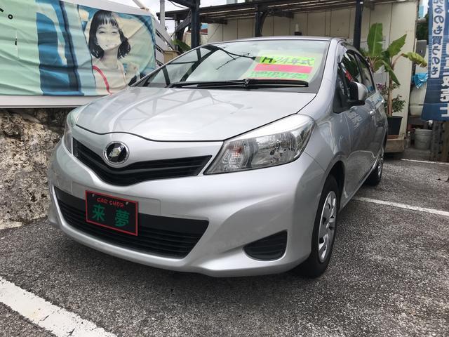 沖縄の中古車 トヨタ ヴィッツ 車両価格 64万円 リ済込 2012(平成24)年 4.0万km シルバー
