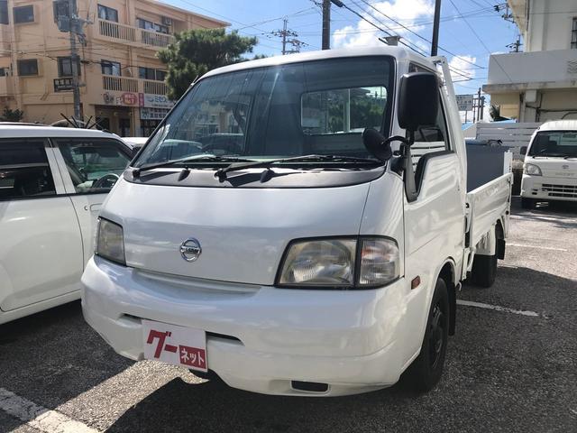 沖縄の中古車 日産 バネットトラック 車両価格 64万円 リ済込 2007(平成19)年 14.1万km ホワイト