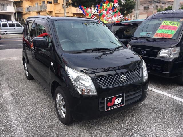 沖縄の中古車 スズキ ワゴンR 車両価格 45万円 リ済込 2011(平成23)年 8.1万km ブラック