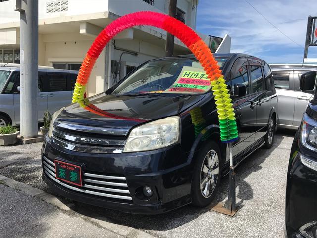 沖縄の中古車 日産 ラフェスタ 車両価格 45万円 リ済込 2007(平成19)年 10.9万km ブラック