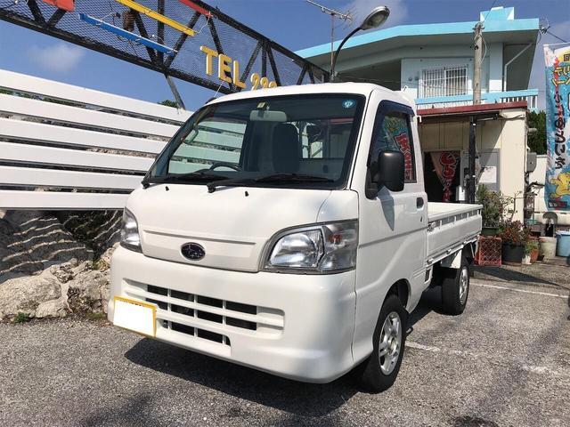 沖縄の中古車 スバル サンバートラック 車両価格 54万円 リ済込 2012(平成24)年 14.5万km ホワイト