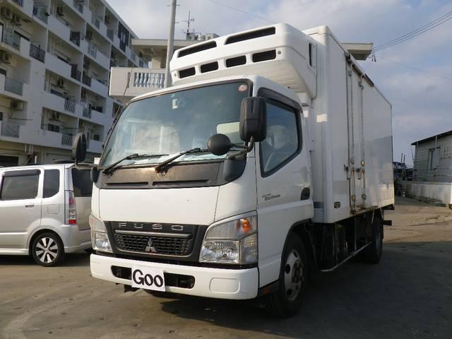 沖縄県うるま市の中古車ならキャンターエコハイブリッド 冷蔵冷凍車 特種シフト フル装備
