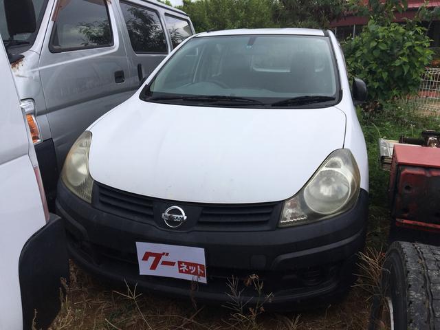 沖縄の中古車 日産 AD 車両価格 15万円 リ済込 2007(平成19)年 18.2万km ホワイト