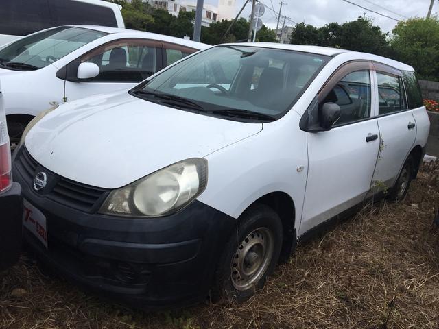 沖縄の中古車 日産 AD 車両価格 15万円 リ済別 2007(平成19)年 16.7万km ホワイト