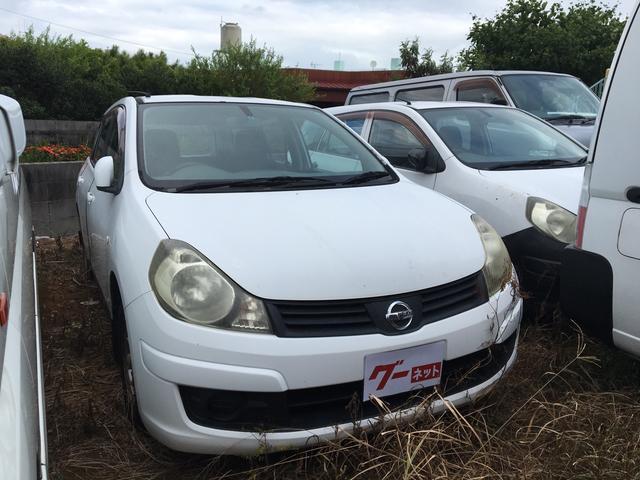 沖縄の中古車 日産 ADエキスパート 車両価格 15万円 リ済別 2007(平成19)年 21.6万km ホワイト