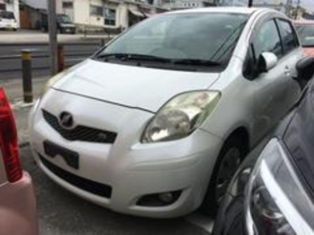 沖縄の中古車 トヨタ ヴィッツ 車両価格 25万円 リ済込 平成21年 10.1万km パールホワイト