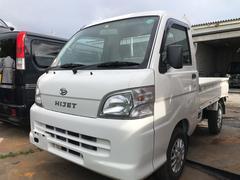 沖縄の中古車 ダイハツ ハイゼットトラック 車両価格 42万円 リ済込 平成20年 9.9万K ホワイト