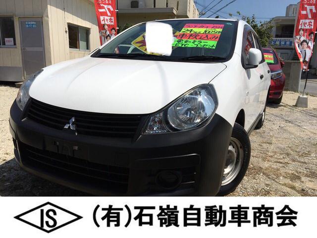 沖縄の中古車 三菱 ランサーカーゴ 車両価格 18万円 リ済込 平成24年 10.0万km ホワイト