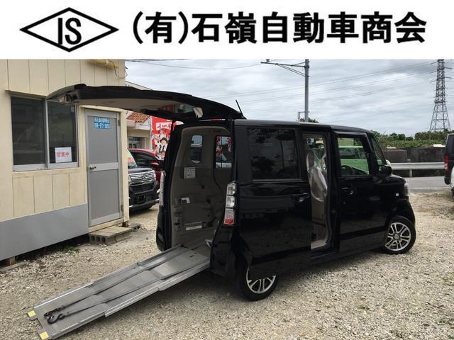 沖縄県の中古車ならN-BOX+ 車いす仕様 G★純正ナビ★DVD再生★リアシートレス仕様