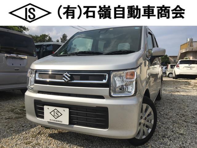 沖縄県うるま市の中古車ならワゴンR ハイブリッドFXセーフティーPKG ナビ ドラレコ アルミ