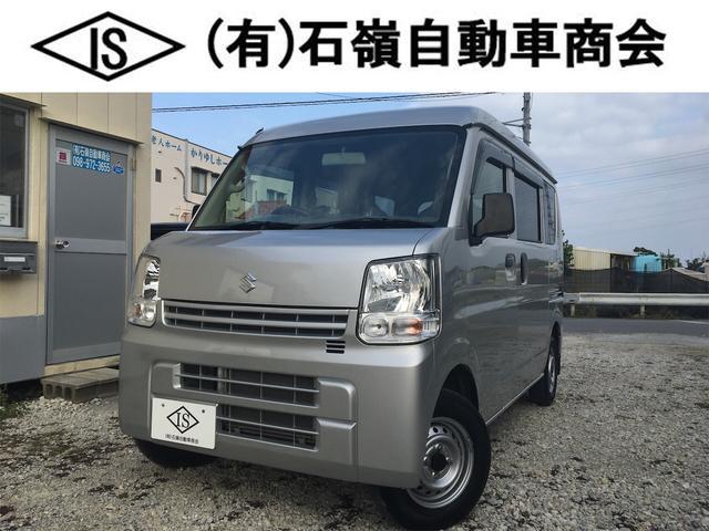 沖縄の中古車 スズキ エブリイ 車両価格 79万円 リ済込 2018(平成30)年 2.4万km シルバー