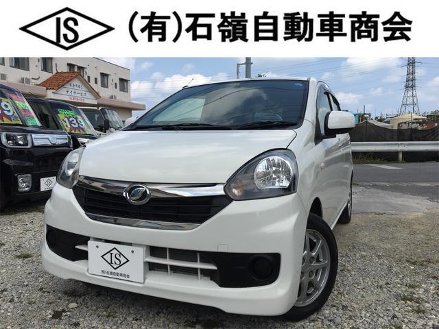 沖縄県の中古車ならミライース X 純正オーディオ リアスモーク 電動ミラー