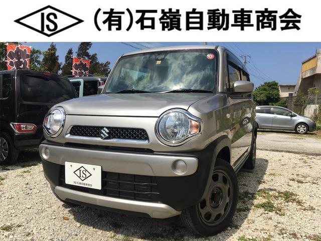 沖縄県の中古車ならハスラー G ハイブリッド 衝突軽減ブレーキ ナビ シートカバー