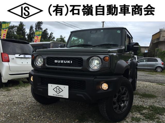 沖縄県うるま市の中古車ならジムニーシエラ JC オプション総額23万円分付き 4WD 5MT Bカメラ