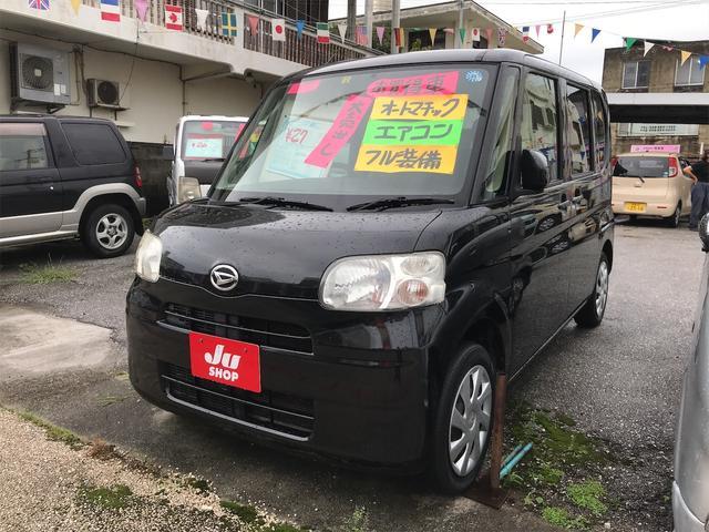沖縄の中古車 ダイハツ タント 車両価格 27万円 リ済込 2011(平成23)年 16.6万km ブラック