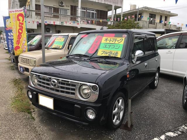 沖縄の中古車 マツダ スピアーノ 車両価格 25万円 リ済込 2008(平成20)年 14.0万km ブラック
