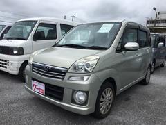 沖縄の中古車 スバル ステラ 車両価格 29万円 リ済込 平成19年 10.3万K ライトゴールド