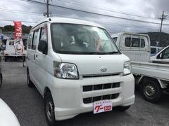 沖縄の中古車 ダイハツ ハイゼットカーゴ 車両価格 26万円 リ済込 平成16年 12.0万K ホワイト
