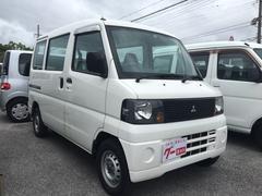 沖縄の中古車 三菱 ミニキャブバン 車両価格 24万円 リ済込 平成18年 10.6万K ホワイト