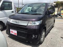 沖縄の中古車 スズキ ワゴンRスティングレー 車両価格 44万円 リ済込 平成21年 10.1万K パープル
