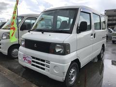 沖縄の中古車 三菱 ミニキャブバン 車両価格 26万円 リ済込 平成16年 13.4万K ホワイト