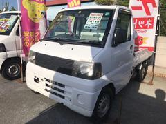 沖縄の中古車 三菱 ミニキャブトラック 車両価格 34万円 リ済込 平成14年 8.2万K シロ