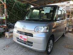 沖縄の中古車 ダイハツ タント 車両価格 35万円 リ済込 平成21年 14.7万K ブライトシルバーメタリック