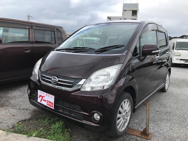 沖縄の中古車 ダイハツ ムーヴ 車両価格 29万円 リ済込 平成21年 10.1万km パープル