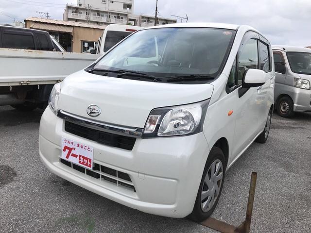 沖縄の中古車 ダイハツ ムーヴ 車両価格 39万円 リ済込 平成25年 11.5万km パールホワイト