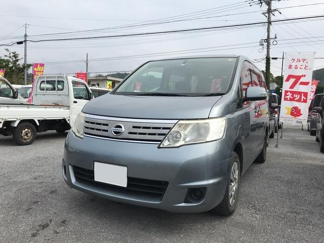 沖縄の中古車 日産 セレナ 車両価格 45万円 リ済込 平成20年 9.3万km グレー