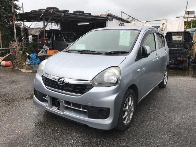 沖縄の中古車 ダイハツ ミライース 車両価格 34万円 リ済込 平成26年 12.0万km シルバー