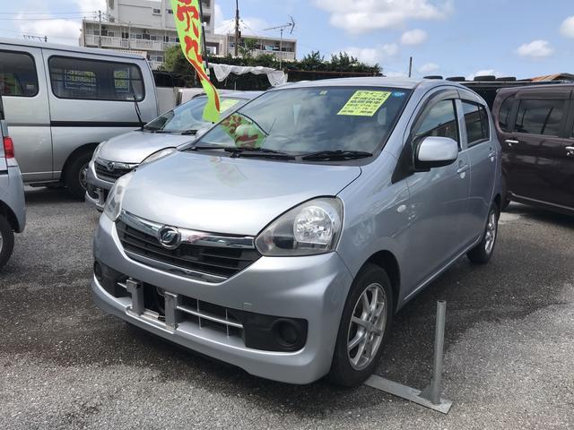 沖縄の中古車 ダイハツ ミライース 車両価格 34万円 リ済込 平成26年 12.1万km シルバー