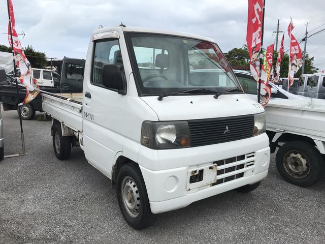 沖縄の中古車 三菱 ミニキャブトラック 車両価格 39万円 リ済込 平成16年 10.1万km ホワイト