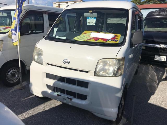 沖縄県の中古車ならハイゼットカーゴ DX 4WD インパネAT