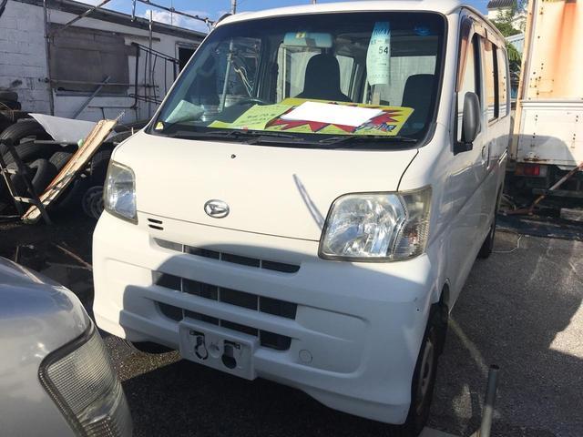 沖縄の中古車 ダイハツ ハイゼットカーゴ 車両価格 37.4万円 リ済込 2008(平成20)年 12.0万km ホワイト