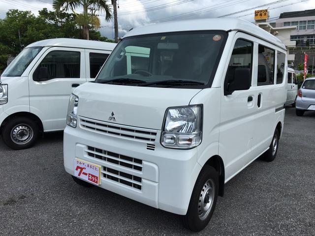 沖縄の中古車 三菱 ミニキャブバン 車両価格 67万円 リ済込 平成27年 7.4万km ホワイト