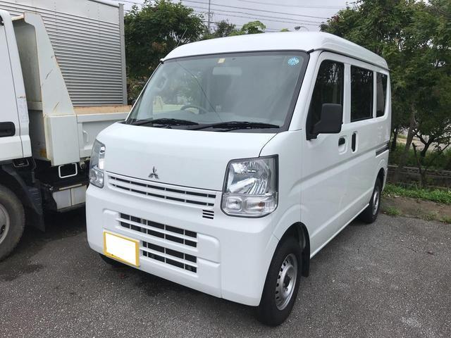 沖縄の中古車 三菱 ミニキャブバン 車両価格 64万円 リ済込 2016(平成28)年 5.6万km ホワイト