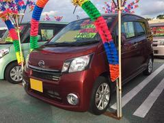 沖縄の中古車 ダイハツ ムーヴ 車両価格 83万円 リ済込 平成26年 3.3万K オレンジ