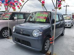 沖縄の中古車 ダイハツ ミラココア 車両価格 55万円 リ済込 平成22年 6.6万K グレー
