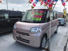 沖縄の中古車 ダイハツ タント 車両価格 71万円 リ済込 平成25年 6.3万K ピンク