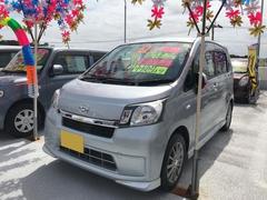 沖縄の中古車 ダイハツ ムーヴ 車両価格 63万円 リ済込 平成26年 8.5万K シルバー