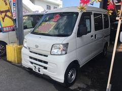 沖縄の中古車 ダイハツ ハイゼットカーゴ 車両価格 41万円 リ済込 平成23年 9.9万K ホワイト