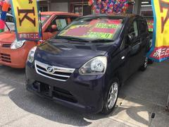 沖縄の中古車 ダイハツ ミライース 車両価格 58万円 リ済込 平成25年 6.1万K ダークパープル