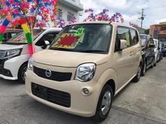 沖縄の中古車 日産 モコ 車両価格 41万円 リ済込 平成24年 9.4万K ベージュ