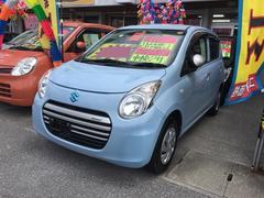 沖縄の中古車 スズキ アルトエコ 車両価格 51万円 リ済込 平成25年 6.0万K ライトブルー