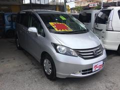 沖縄の中古車 ホンダ フリード 車両価格 59万円 リ済込 平成22年 9.3万K シルバー