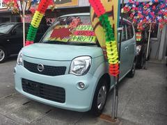 沖縄の中古車 日産 モコ 車両価格 58万円 リ済込 平成25年 6.7万K ライトブルー