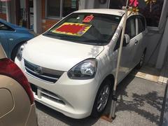 沖縄の中古車 ダイハツ ミライース 車両価格 51万円 リ済込 平成25年 2.7万K ホワイト