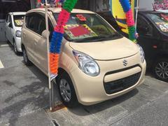 沖縄の中古車 スズキ アルト 車両価格 47万円 リ済込 平成25年 3.3万K ベージュ